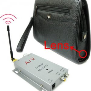 Spy Tiny Wireless Camera Brief Case With Transmitter